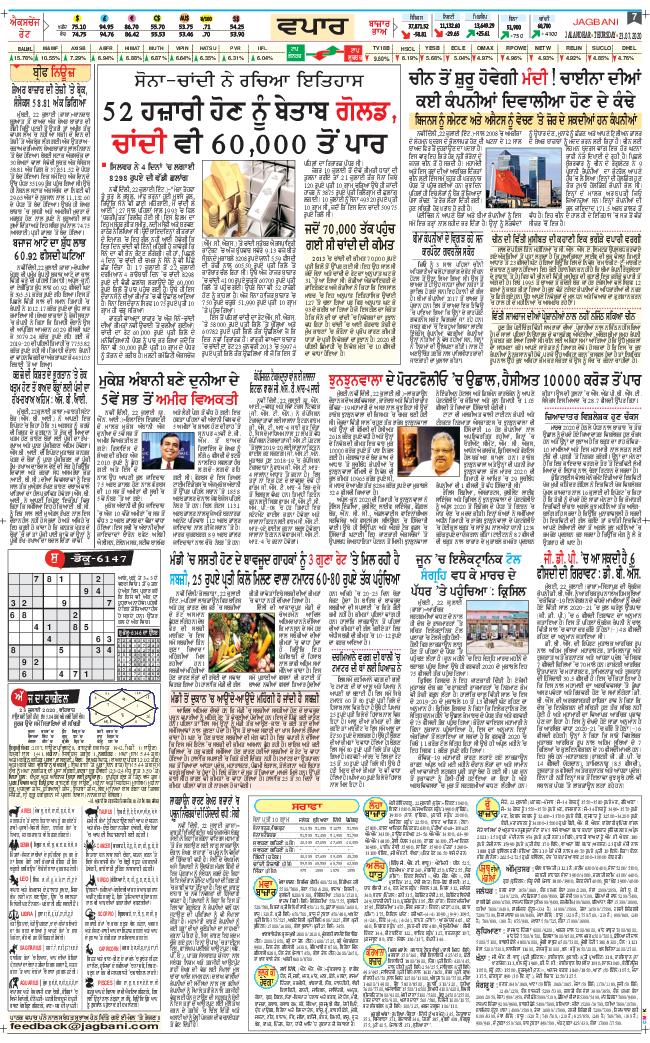 Jalandhar Main 2020-07-23