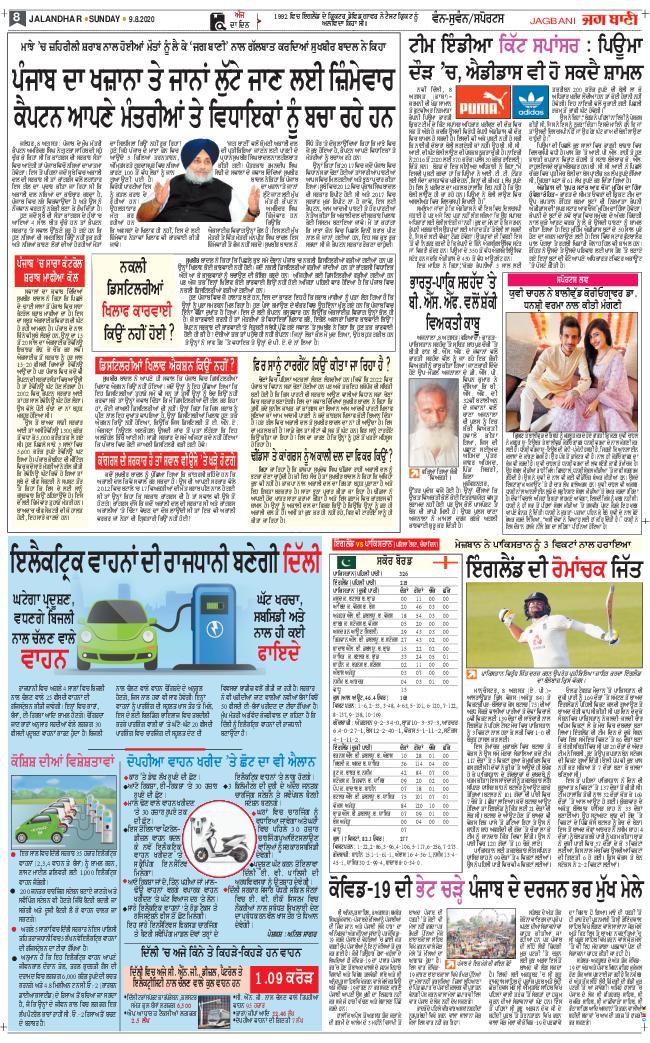 Amritsar Main 2020-08-09