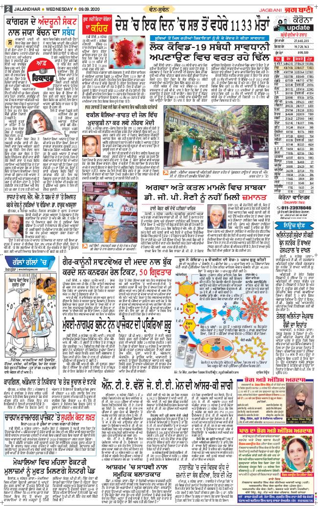 Amritsar Main 2020-09-09