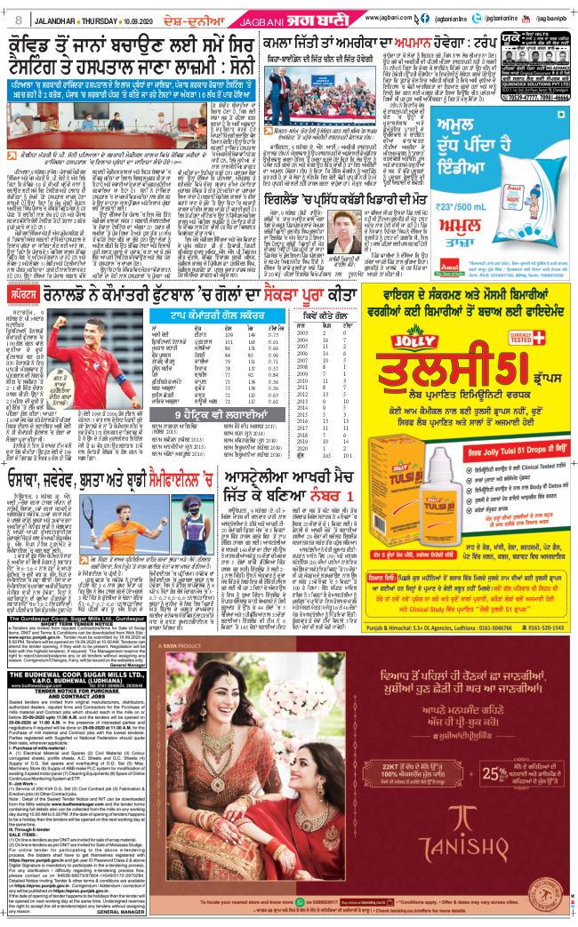 Jalandhar Main 2020-09-10