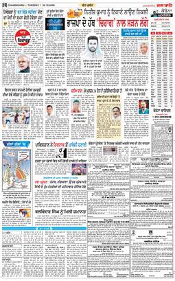 Chandigarh Main 2020-10-20