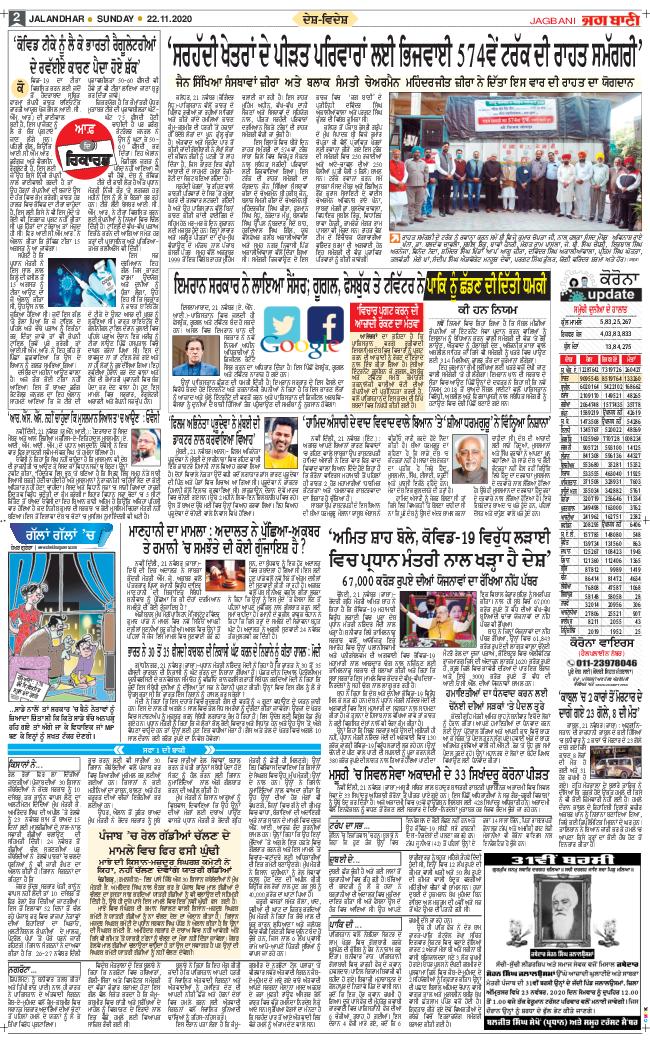Amritsar Main 2020-11-22