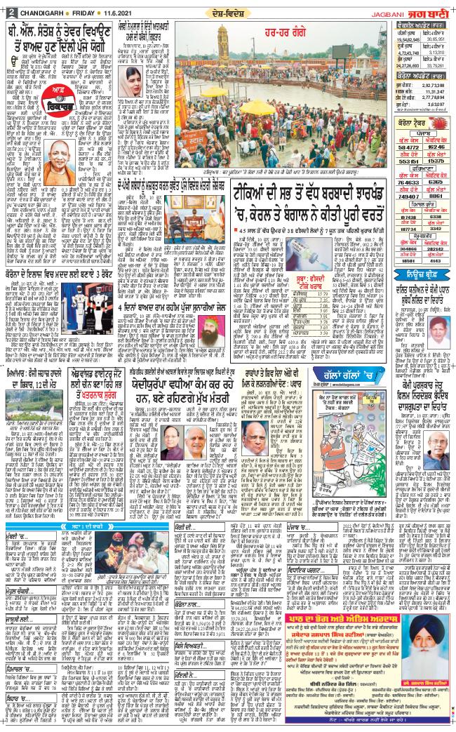 Chandigarh Main 2021-06-11
