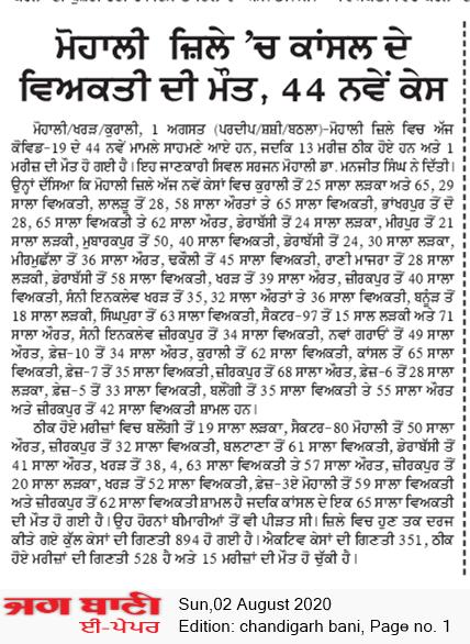 Chandigarh Bani 8/2/2020 12:00:00 AM