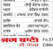 Jalandhar Bani 8/7/2020 12:00:00 AM