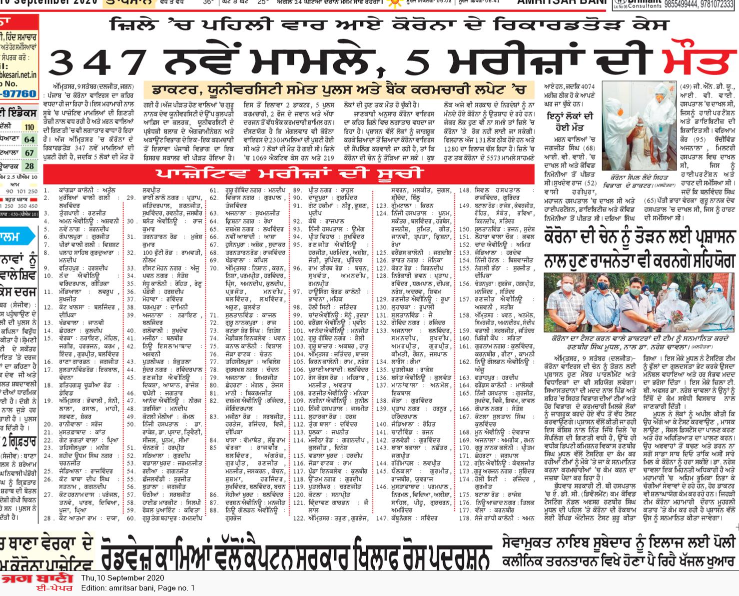 Amritsar Bani 9/10/2020 12:00:00 AM